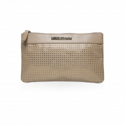 Cosmetic Bag Beige & Gold icon